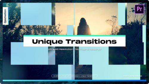 Videohive - Unique Transitions For Premiere Pro - 34321023 - 34321023