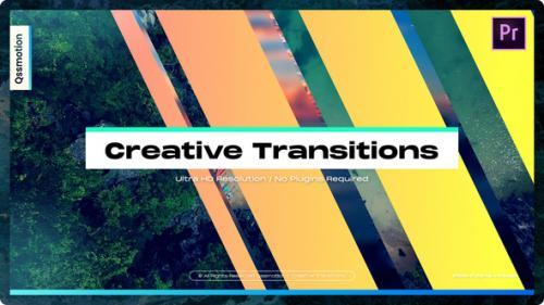Videohive - Creative Transitions For Premiere Pro - 34320546 - 34320546