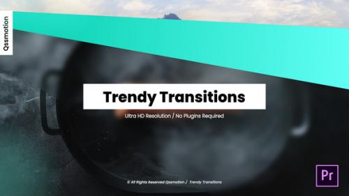 Videohive - Trendy Transitions For Premiere Pro - 34319028 - 34319028