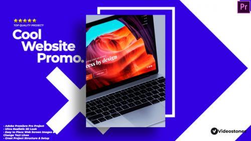 Videohive - Cool Web Promo - Website Showcase Video Premiere Pro - 34306139 - 34306139