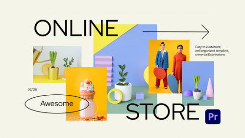 Videohive - Online Shopping Store Promo for Premiere Pro - 34294908 - 34294908