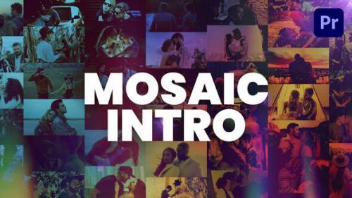 Videohive - Mosaic Intro - 34267772 - 34267772