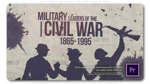 Videohive - Military Leaders of the Civil War - 34262589 - 34262589