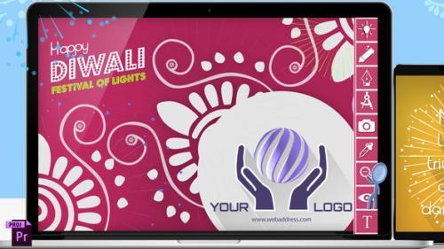 Videohive - Diwali Festive Digital Card - 34145233 - 34145233