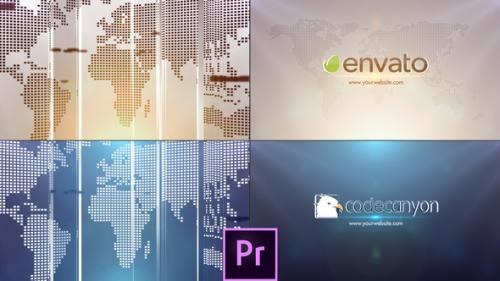 Videohive - Global Business Logo - Premiere Pro - 34029128 - 34029128