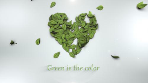 Videohive - Short Green Intro Mogrt - 21838866 - 21838866