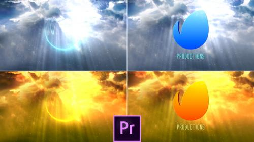Videohive - Clouds Logo Reveal - Premiere Pro - 34106630 - 34106630