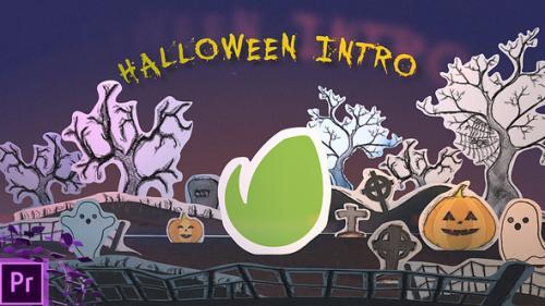 Videohive - Halloween Intro Logo - 34292185 - 34292185