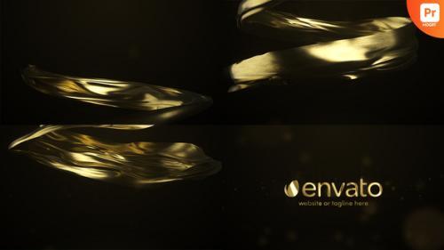 Videohive - Gold Premium Logo Reveal for Premiere Pro - 34299557 - 34299557