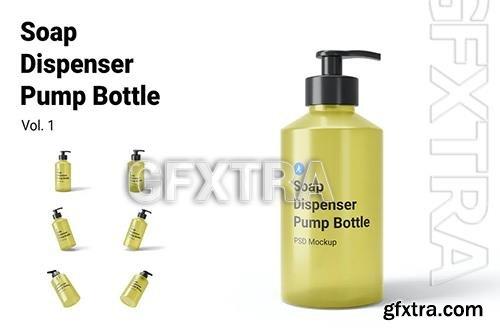 Soap Dispenser Pump Bottle Mockup Vol.1 SUJEHWP