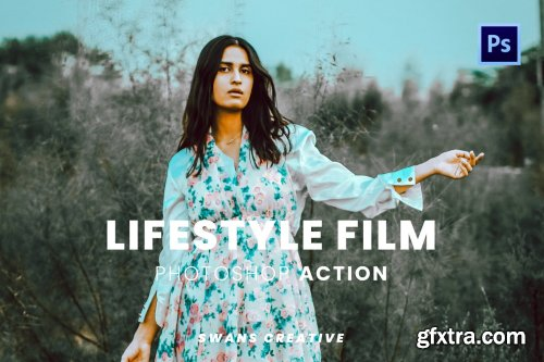 Lifestyle Film Photoshop Action