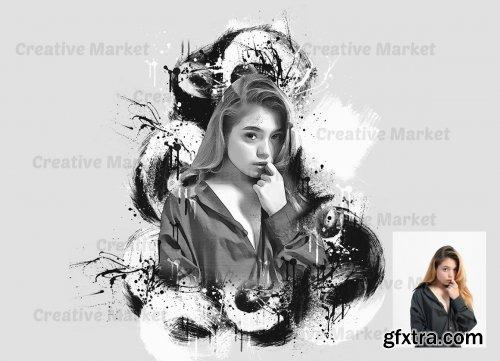 CreativeMarket - Impression Photoshop Action 6545186