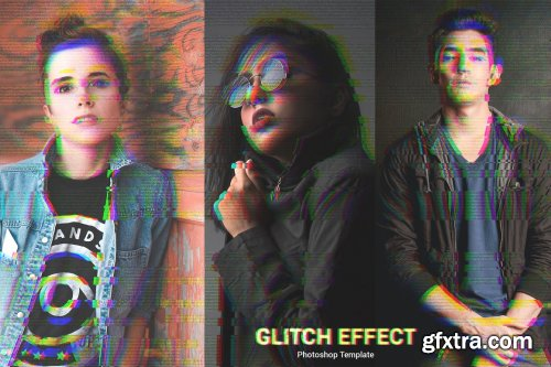 CreativeMarket - Glitch Effect 6524038