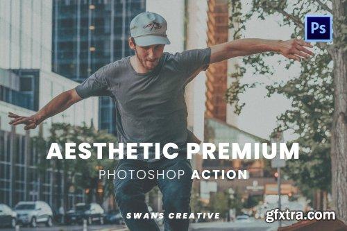Aesthetic Premium Photoshop Action