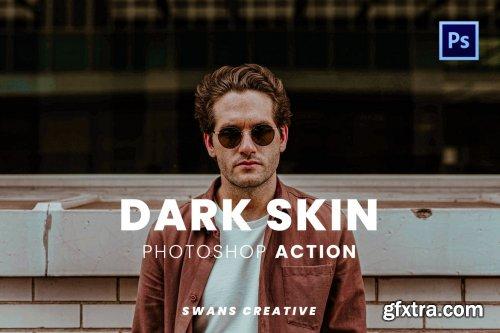 Dark Skin Photoshop Action