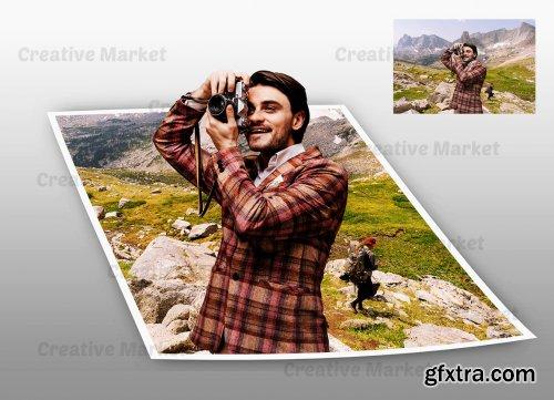 CreativeMarket - Pop Out Photoshop Action 6558025