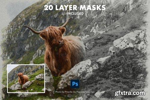 CreativeMarket - Photoshop Sketch Effect Creator 6284312