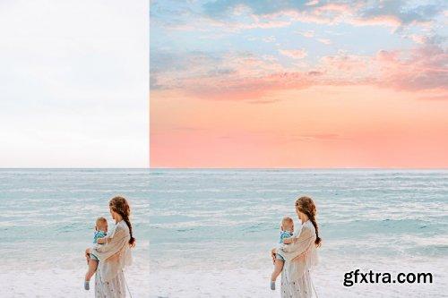 CreativeMarket - 30 Dreamy Pastel Sky Overlays 6252243