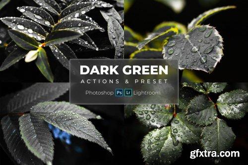 Phtoshop Actions & Lightroom Presets - Dark Green