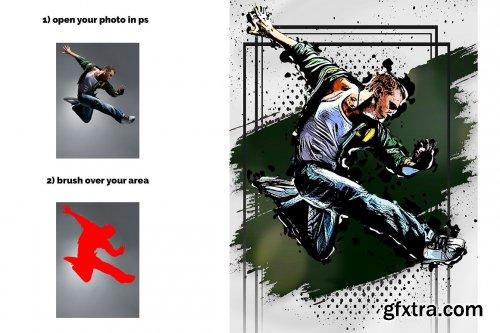 CreativeMarket - Artline Photoshop Action 5640054