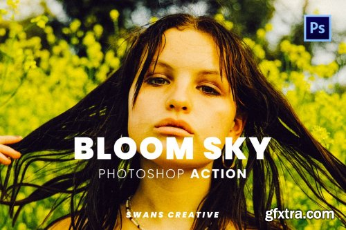 Bloom Sky Photoshop Action