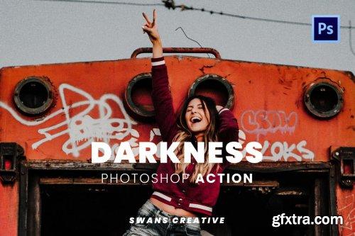 Darkness Photoshop Action