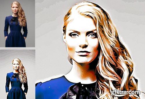 CreativeMarket - Comic Effect Photoshop Action 5183708