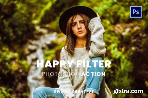 Happy Filter Photoshop Action
