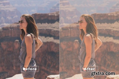 Natural Effects Photoshop Action