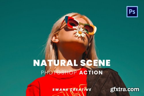 Natural Scene Photoshop Action