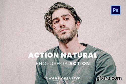 Action Natural Photoshop Action