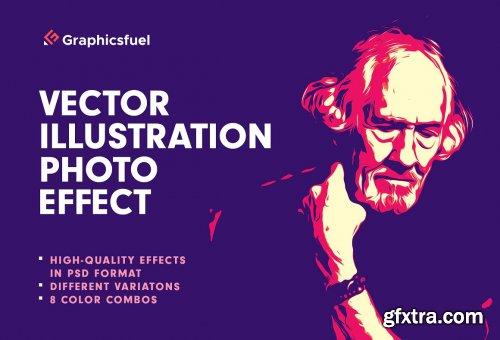 CreativeMarket - Vector Illustration Photo Effect 6331200