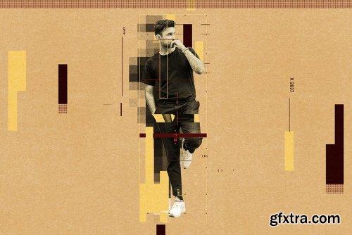 CreativeMarket - Modern Graphic Poster Action 6351005