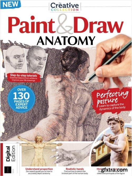 Paint & Draw: Anatomy - Second Edition 2021