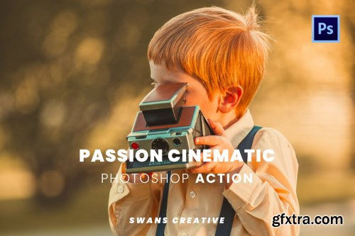 Passion Cinematic Photoshop Action
