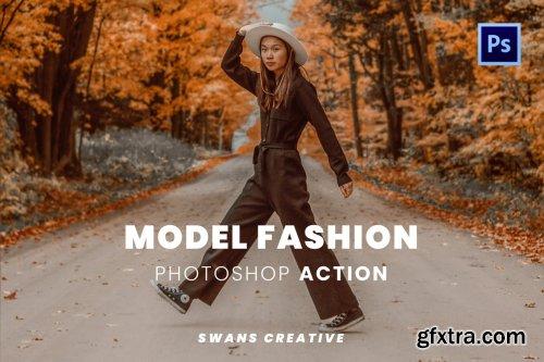 Model Fashion Photoshop Action