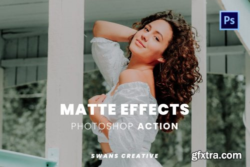 Matte Effects Photoshop Action