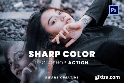 Sharp Color Photoshop Action
