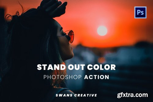 Stand Out Color Photoshop Action