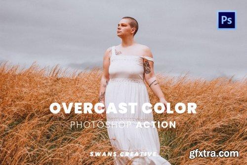 Overcast Color Photoshop Action