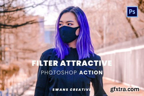 Filter Attractive Photoshop Action