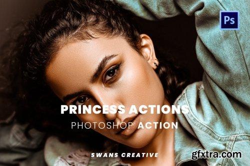 Princess Actions Photoshop Action
