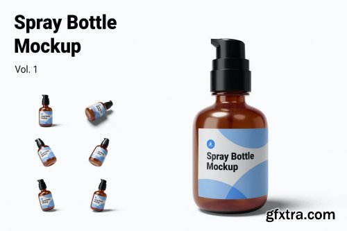 Spray Bottle Mockup Vol.1