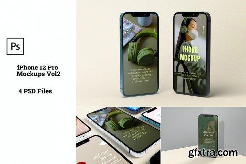 iPhone 12 Pro Mockups Vol2