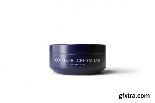 Cosmetic Cream Jar Mockup Vol.1