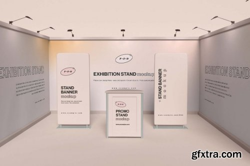 Exhibition Stand Mockup