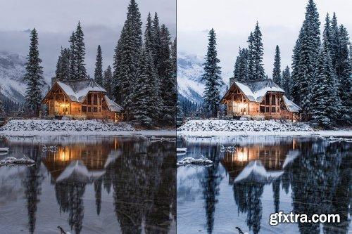 CreativeMarket - 4 Winter Lightroom Presets 5627706