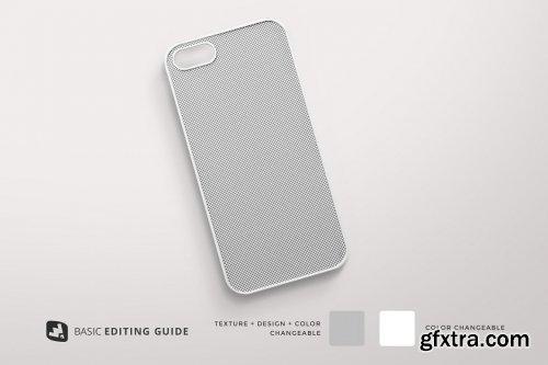 CreativeMarket - Top View Phone Case Mockup 5081242