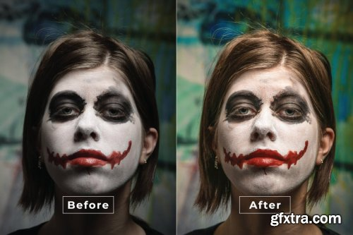Halloween Actions Photoshop Action