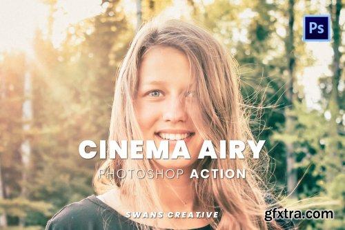 Cinema Airy Photoshop Action